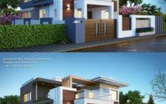 Kerala Home Designs Interior Design With Two Storey Rear House Extension Ideas With Building House Cost Per Square Foot