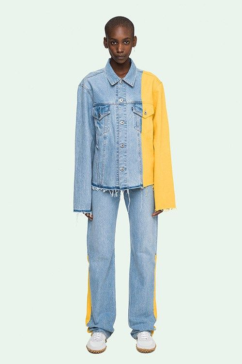 Off White Levis Collaboration Lookbook Ladies Pinterest Denim