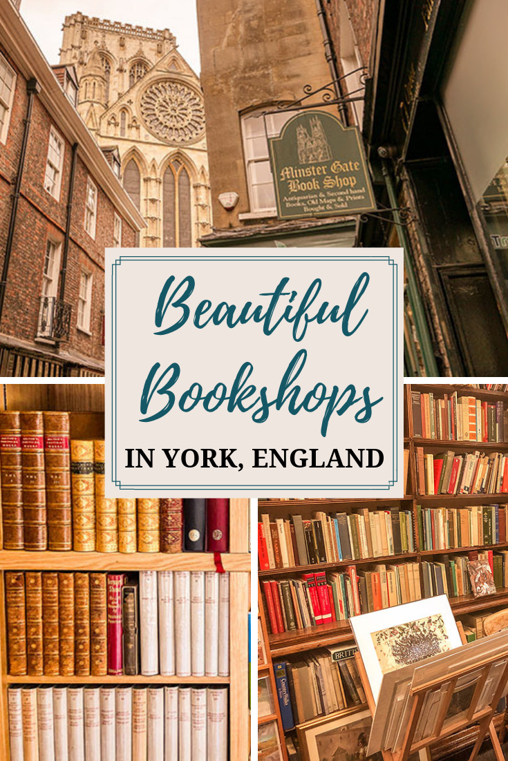 York's historic and charming streets are lined with beautiful bookshops that share those characteristics. Find out the best and most beautiful bookshops in York, England. #bookshopporn #bookshops #bookstagram