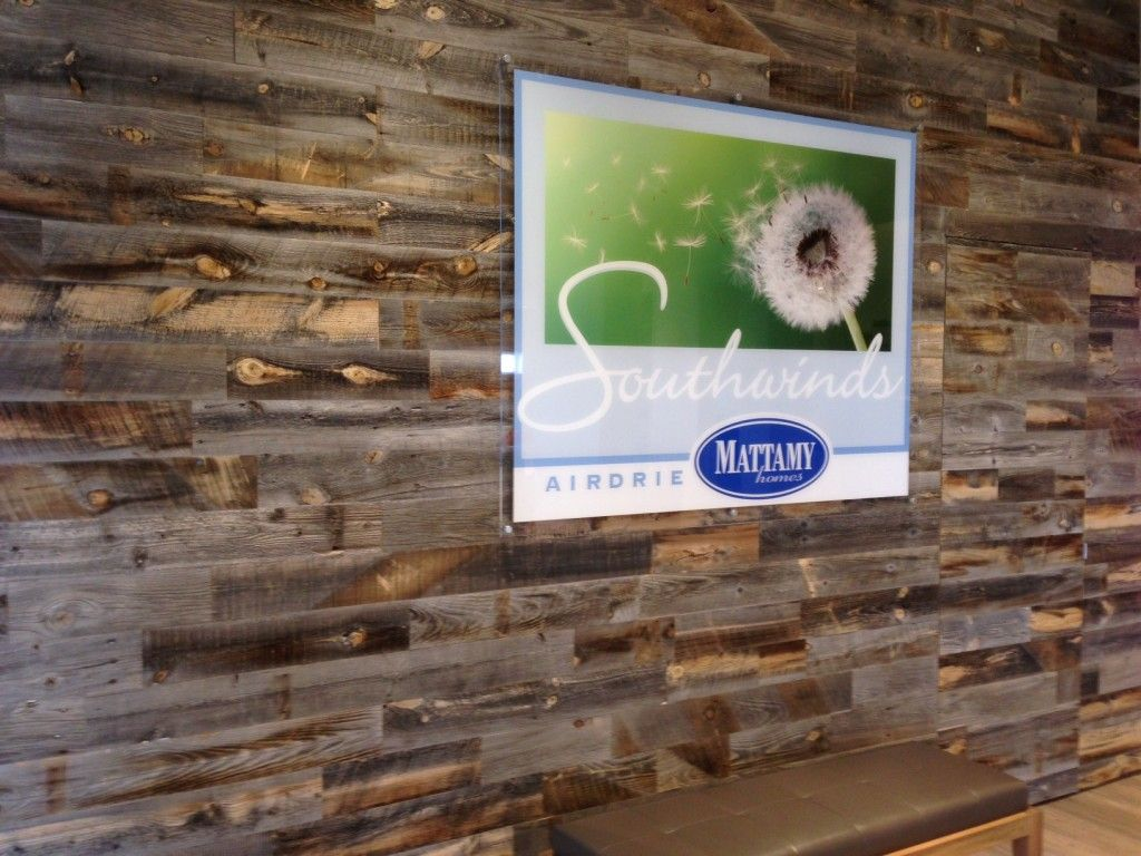 Reclaimed Wood Wall Our Environmentally Friendly Peel Stick Reclaimed Wood Wall