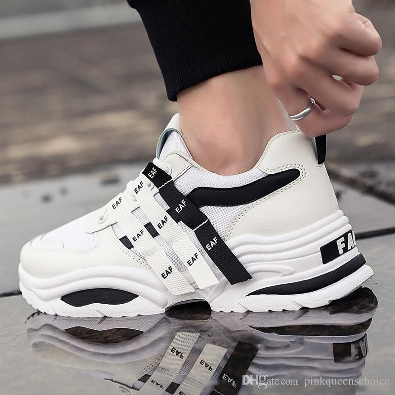 Men/'s Basketball Round Toe Lace Up Breathable Road Running Climbing Shoes Chic