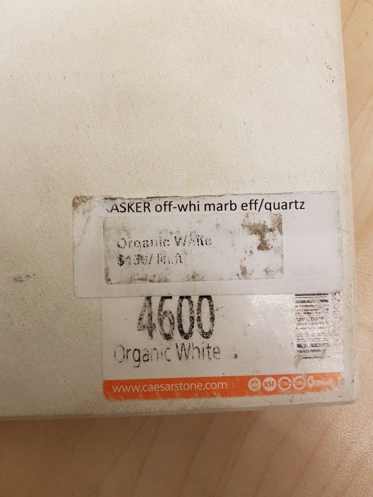 Also Organic White Caesarstone Called Kasker Offwhite Marble