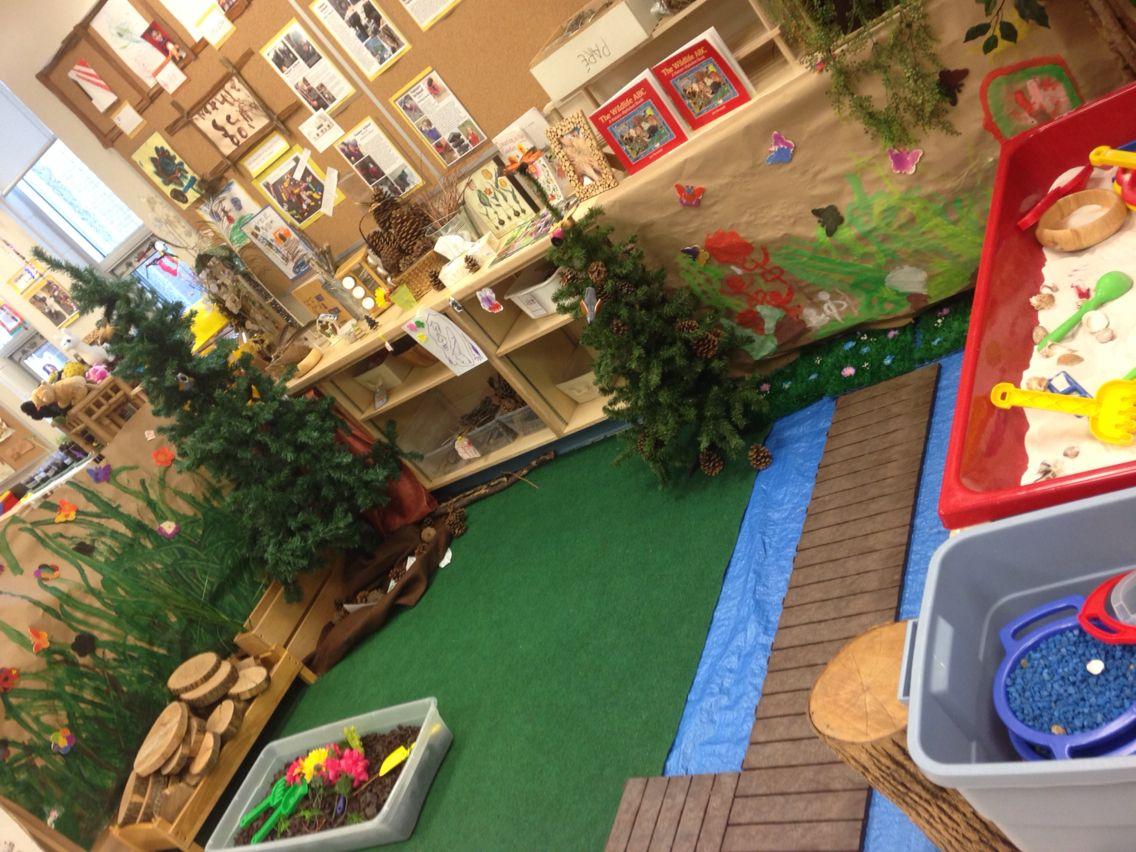 Build A Nature Centre Outdoor Decor Building Kindergarten Classroom