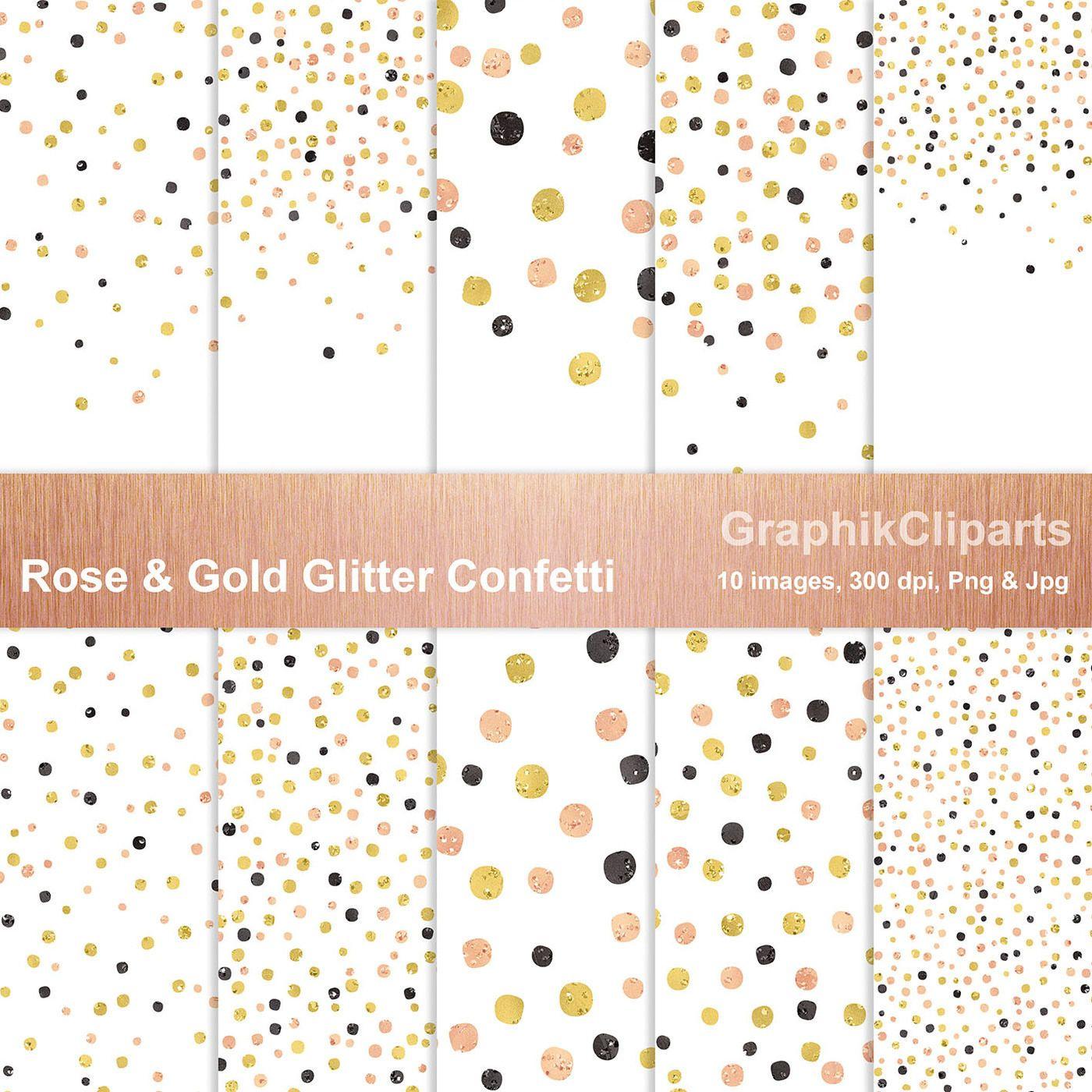 Rose Gold Glitter Confetti Png Jpg By Wowtiful Thehungryjpeg Com Glitter Ad Confetti Rose Gold Glitter Confetti Gold Digital Paper Rose Gold Glitter