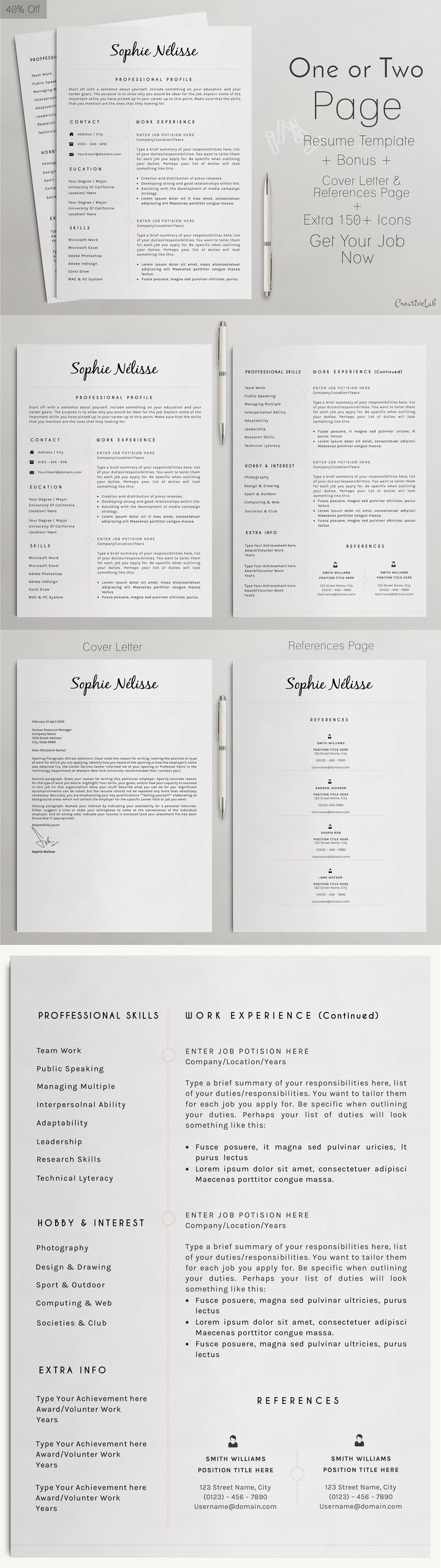 Professional Resume Design Pdf
