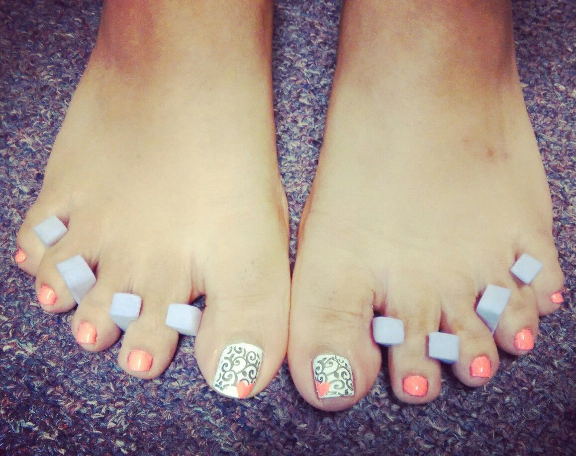 Pedicure by Wendy Weed using Flip Flop Fantasy by China Glaze and ...