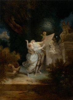 Image Result For Jean Honore Fragonard Le Sacrifice De La Rose Jean Honore Fragonard Fragonard Paintings Rococo Painting