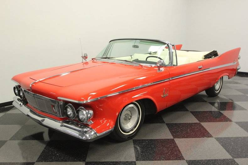 1961 Chrysler Imperial Crown Convertible Chrysler Imperial