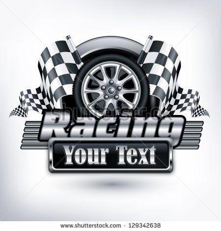 Vector Checkered Racing Flag Free Vector For Free Download About 18 Free Vector In Ai Eps Cdr Svg Format Racing Posters Automotive Logo Free Racing