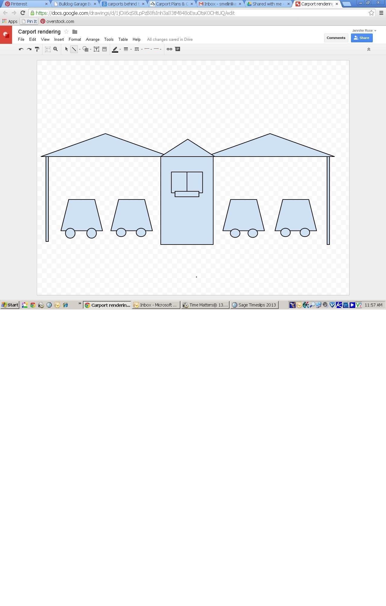 Carport Rendering Carport Tool Table Floor Plans