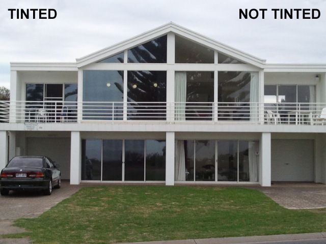 Tinted House Windows Before And After Tinted House Windows