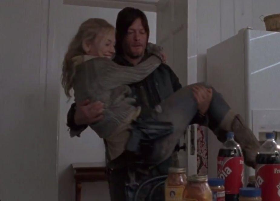 Beth en Daryl dating