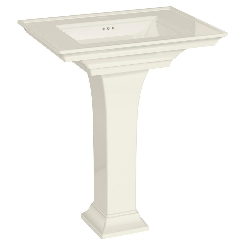 American Standard Town Square S Pedestal Combo Bathroom Sink With