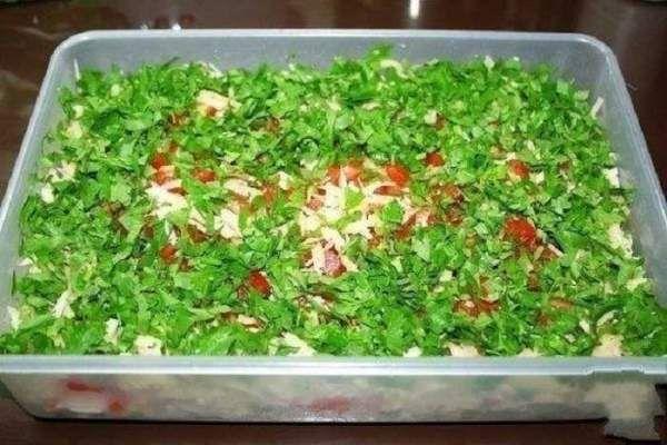 Самый вкусный салат, который я когда-либо пробовала