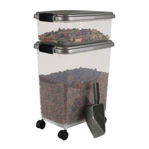 Iris Airtight Pet Food Storage Container Combo Kit Petsmart