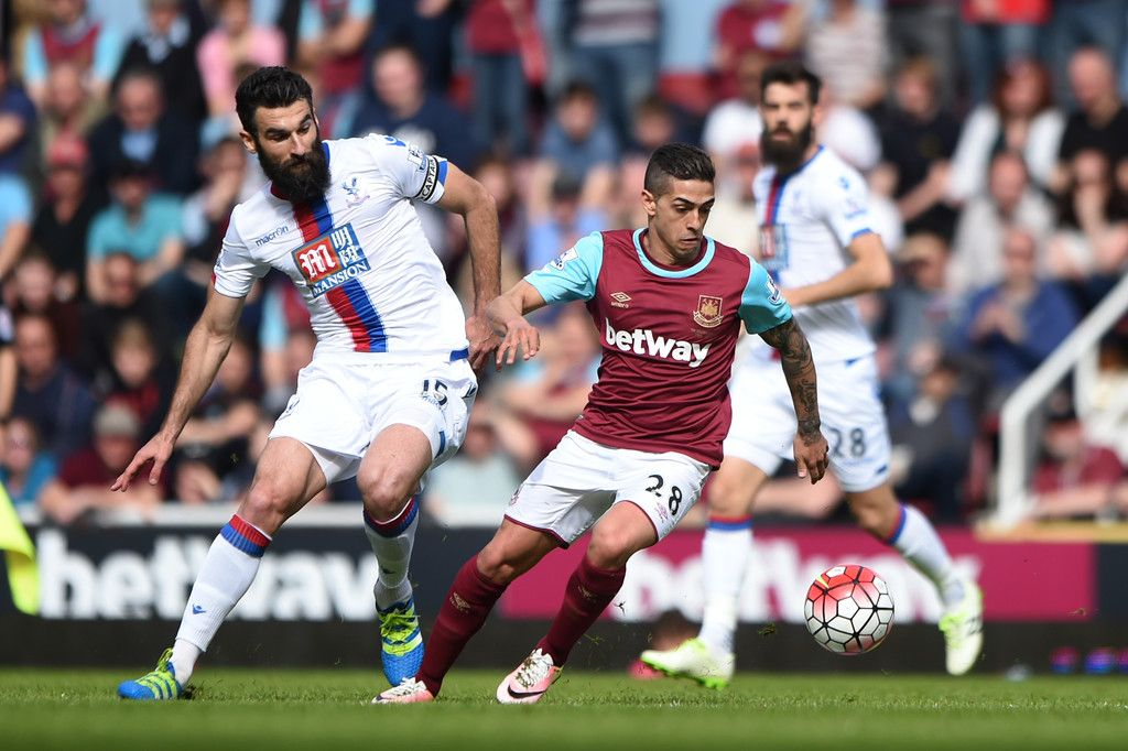 Pin by Nelson Robert on West Ham United vs Crystal Palace