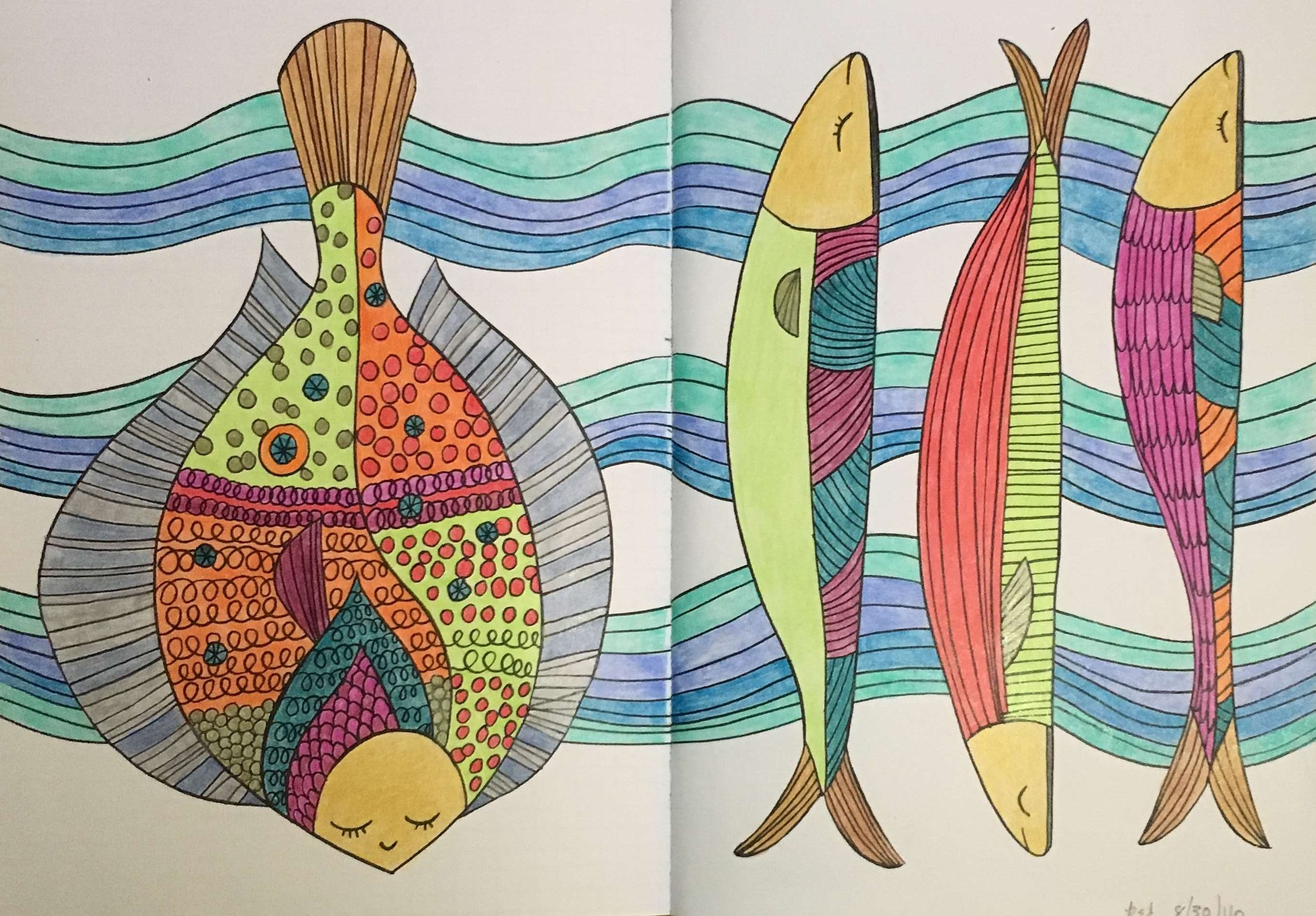 From The Mindfulness Coloring Book Volume Two By Emma Farrarons Coloring Books Coloring Pages Color