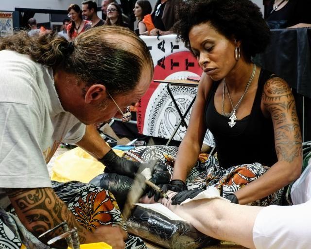 La dixième convention internationale du tatouage à ouvert ses portes à Londres