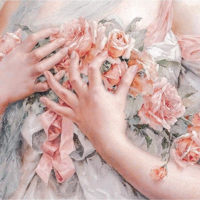 floral icons Tumblr Aesthetic art, Renaissance art