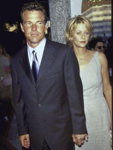 Married Actors Dennis Quaid and Meg Ryan at Film P