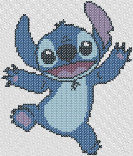 Photo of Download for free : Lilo's Friend Stitch Cross Stitch Pattern at Cross Stitch …