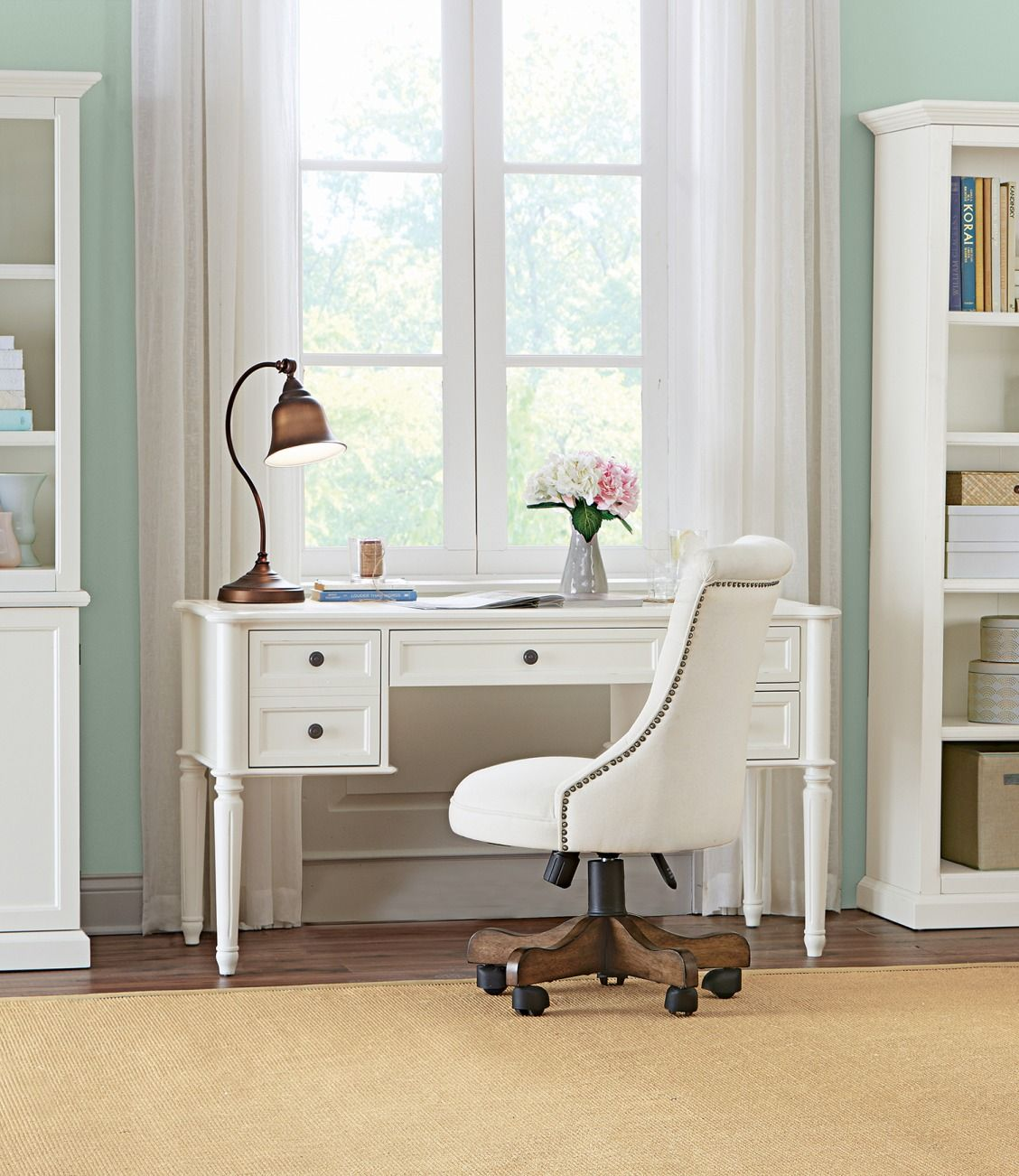 Create An Office You'll Love At Home. A Desk Is Essential