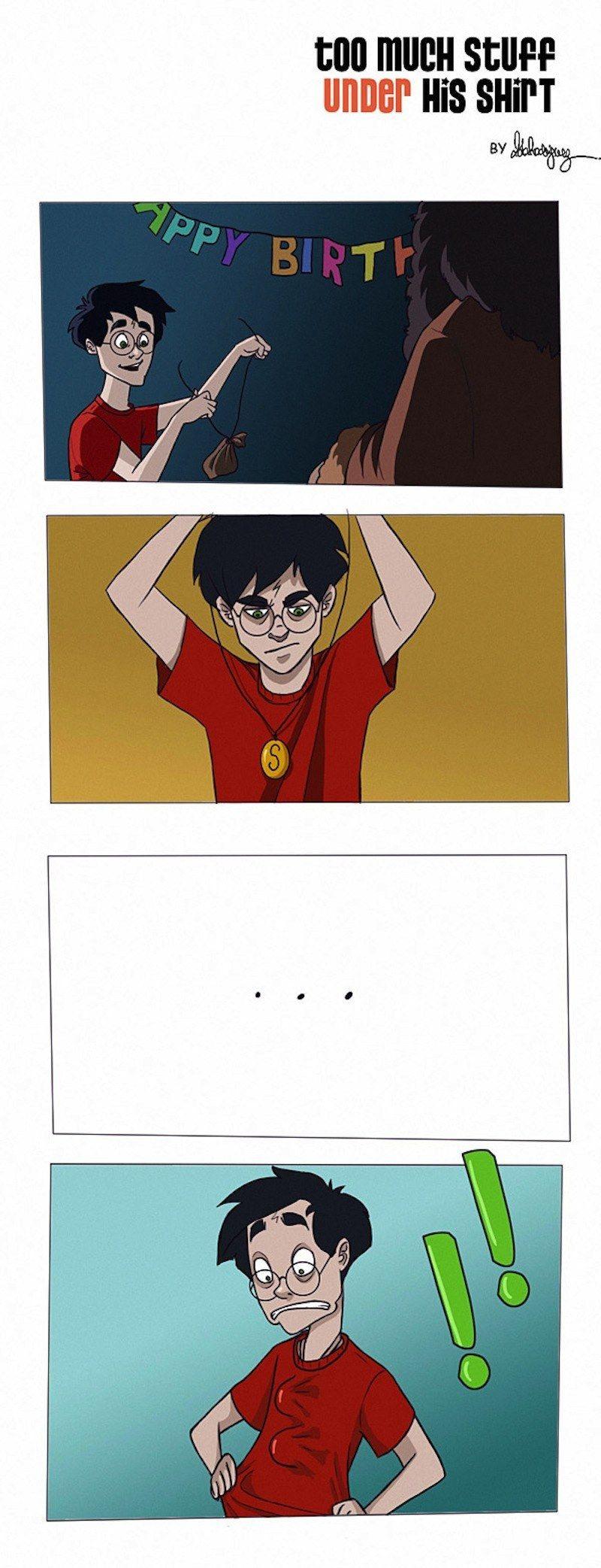 8 Magical Harry Potter Comics | A Potterhead for life ...