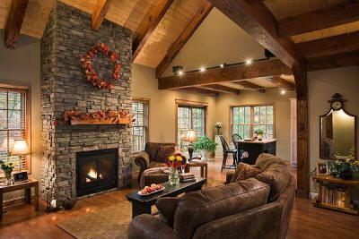 Vaulted Ceilings With Beams Timber Frame Trusses Exposed Beam Construction Heavy Timber Truss Timber House Timber Frame Homes House