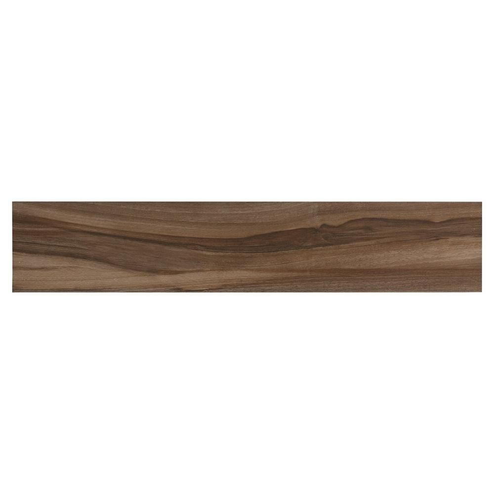 Tile Floor And Decor Amusing Mukali Viejo Wood Plank Porcelain Tile  9Inx 48In Floor And Review