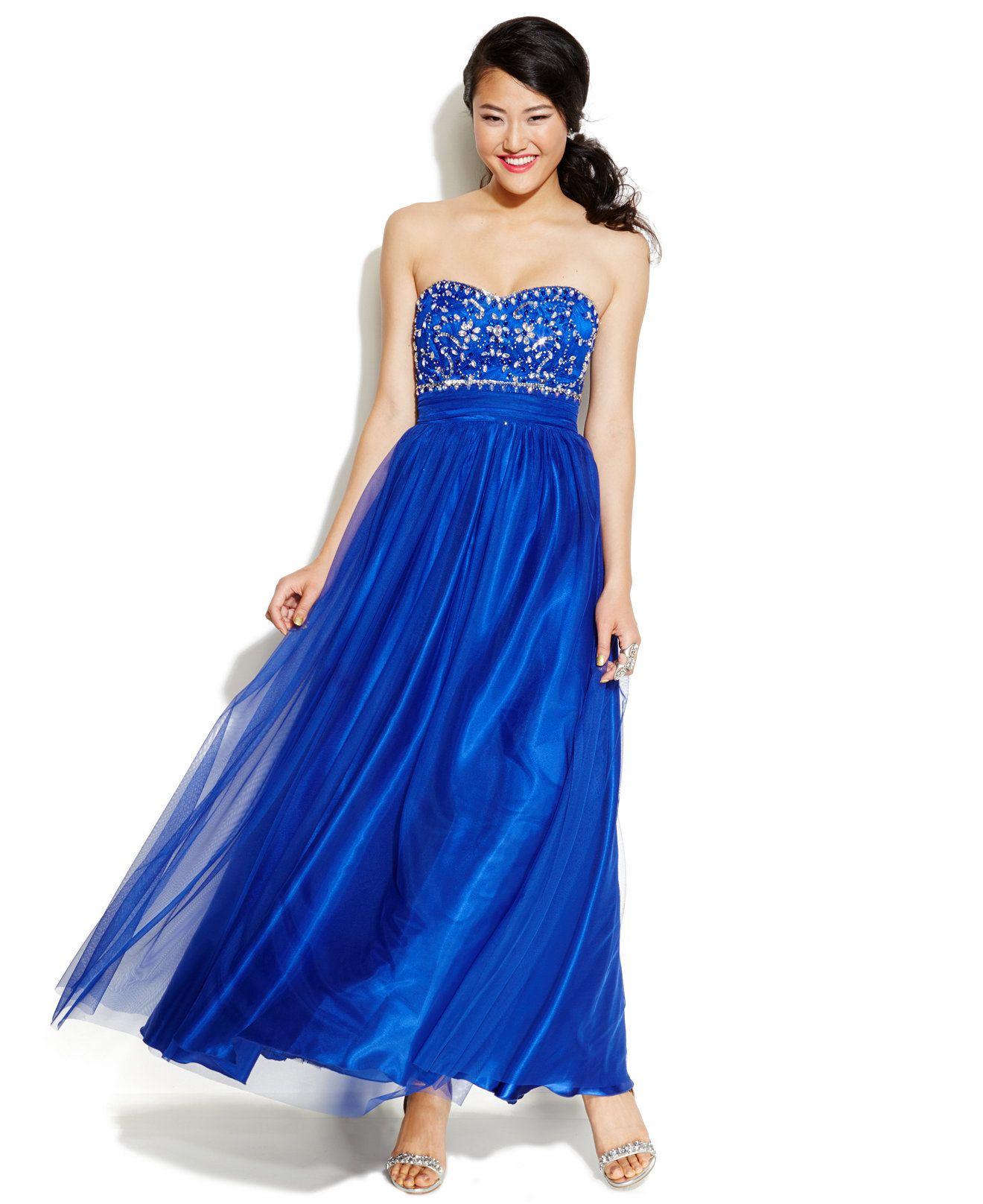B darlin juniorsu beaded sweetheart gown juniors shop all prom