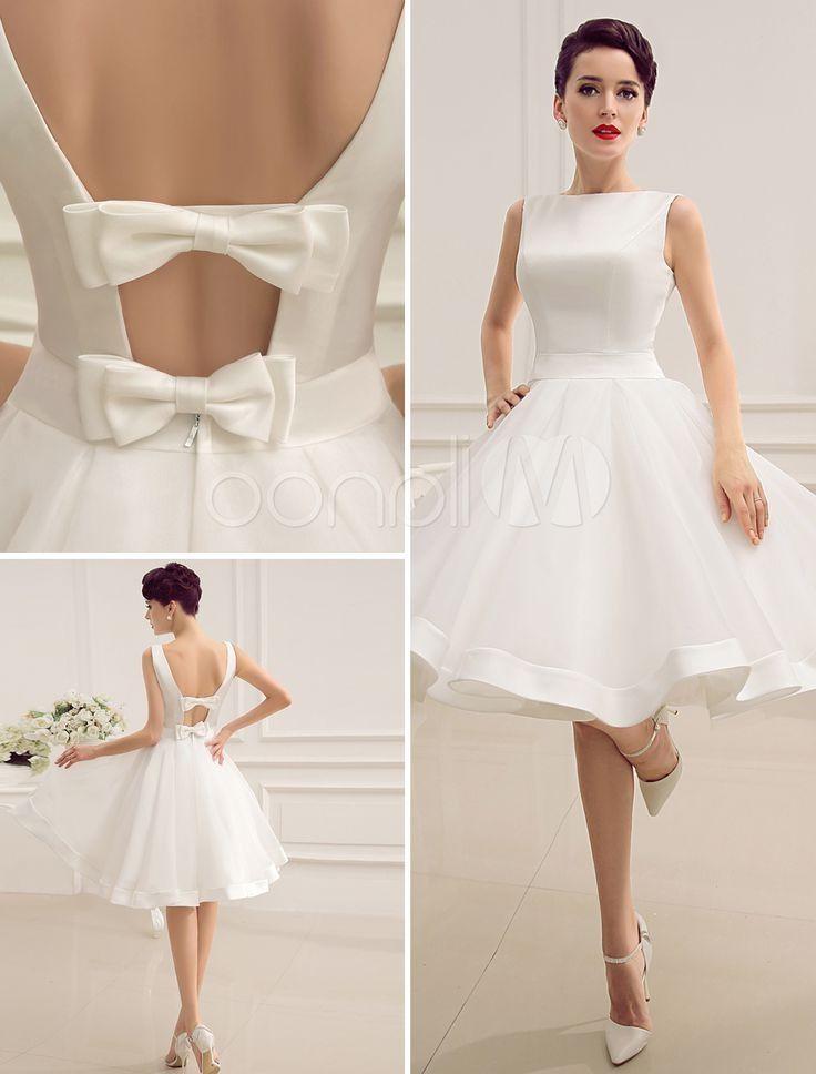 Beyaz Mini Etekli Nikah Elbisesi Modelleri 19 Jpg 736 968 Gelinlik Beyaz Dugun Elbiseleri Kiyafet
