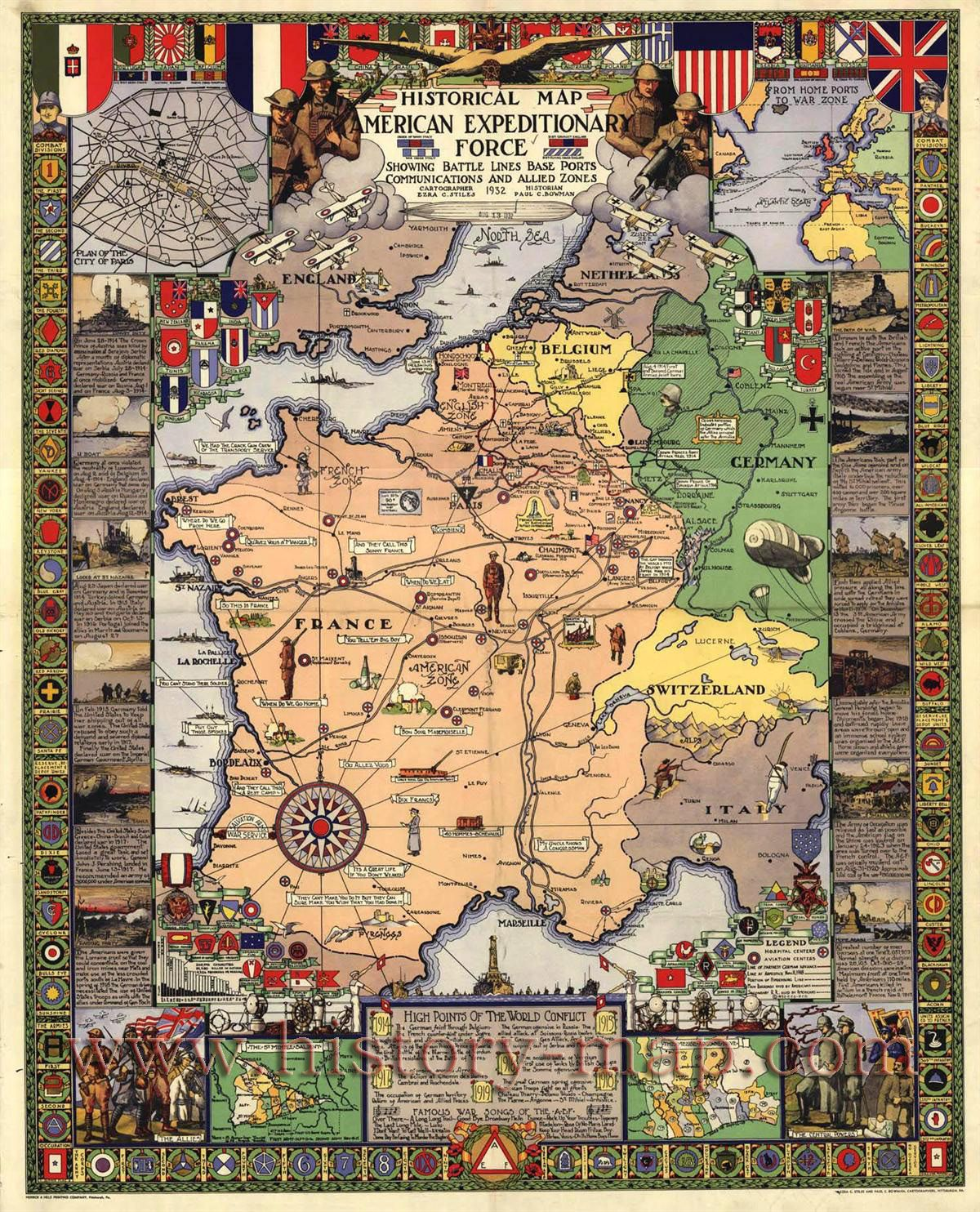 The worlds coolest maps all in one place wwi history and historian the worlds coolest maps all in one place gumiabroncs Choice Image