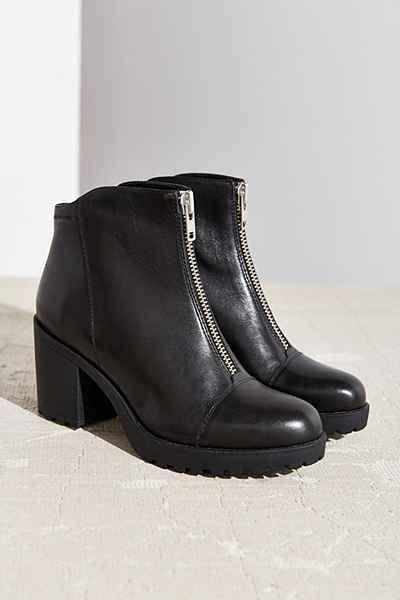 968af7e492 Vagabond Front Zip Grace Ankle Boot
