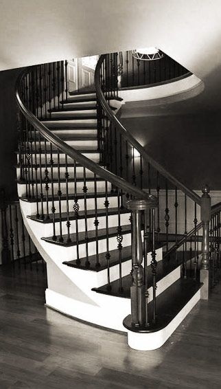 Best Custom Stairs Featuring Turned Newels And Wrought Iron 400 x 300