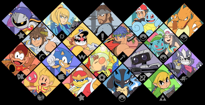 Super Smash Bros Ultimate Brawl Fighters By Https Www Deviantart Com Zieghost On Deviantar Super Smash Bros Brawl Super Smash Bros Super Smash Bros Party