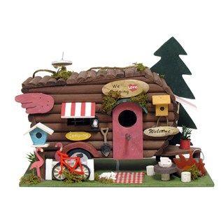 Camping Birdhouse Hobby Lobby