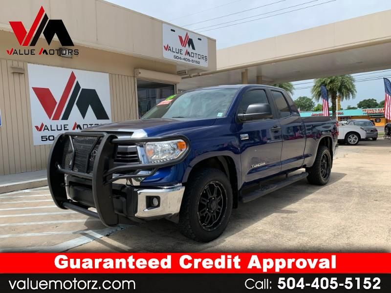 Used 2015 Toyota Tundra Sr5 5 7l V8 Ffv Double Cab 4wd For Sale In