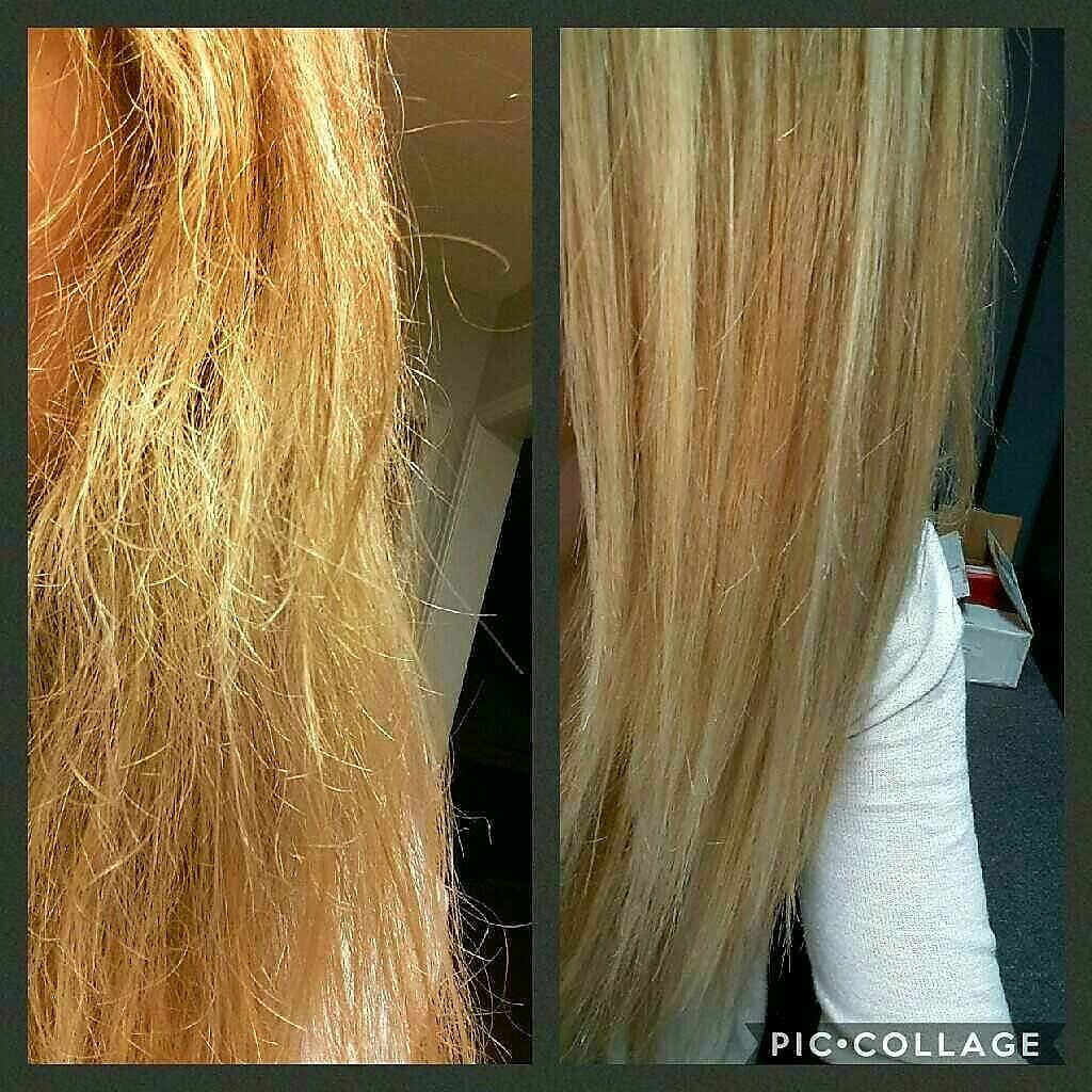 Frizz be gone!!! Wash and blowdry before MONAT and wash