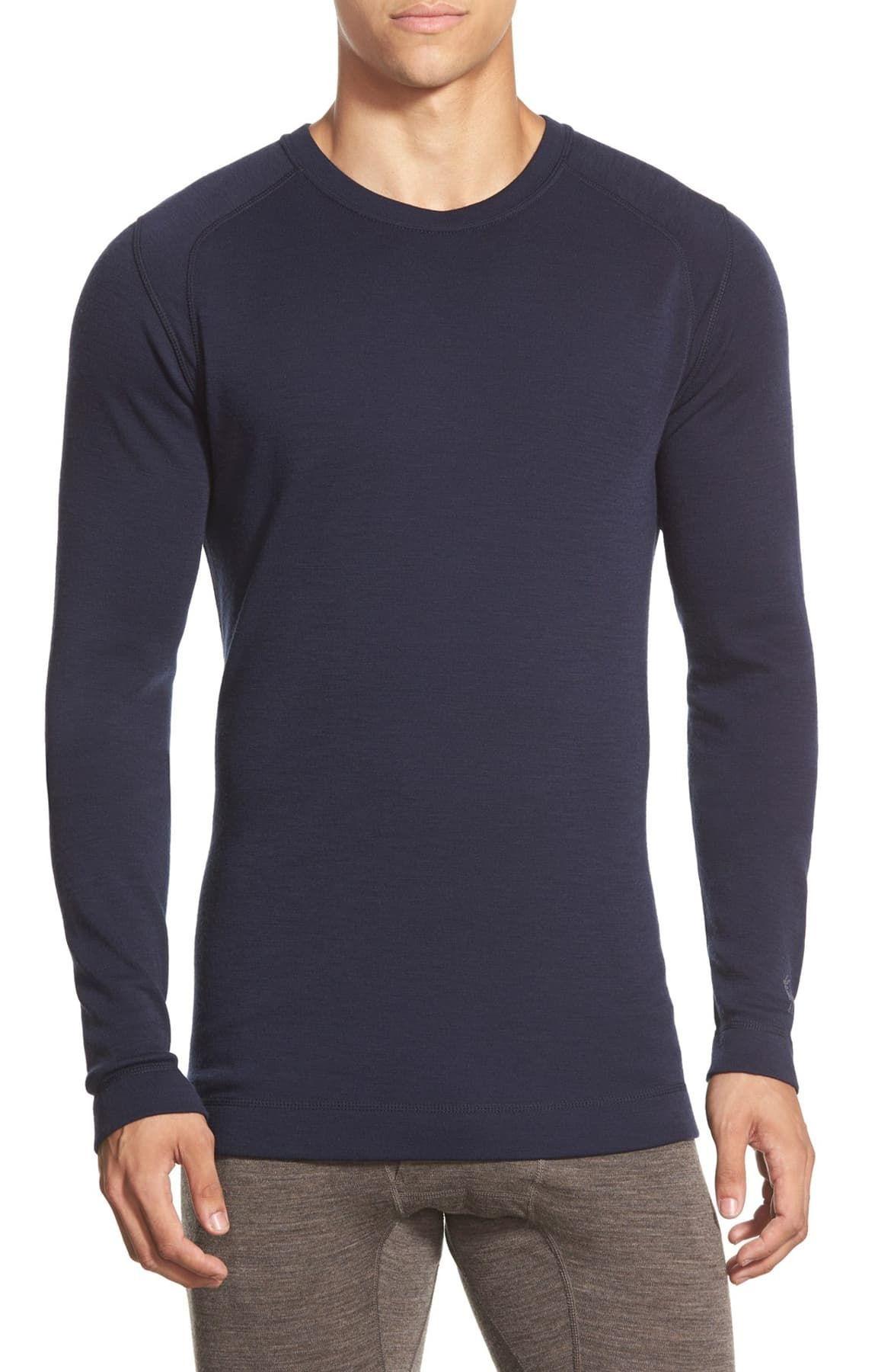 smartwool long sleeve thermal t shirt