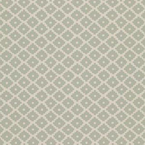 Schumacher Ziggurat Seaglass Wallpaper
