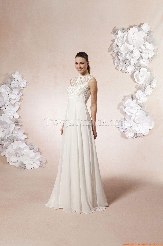 Satin wie Seide Elegante Brautkleider | Weddings | Pinterest ...