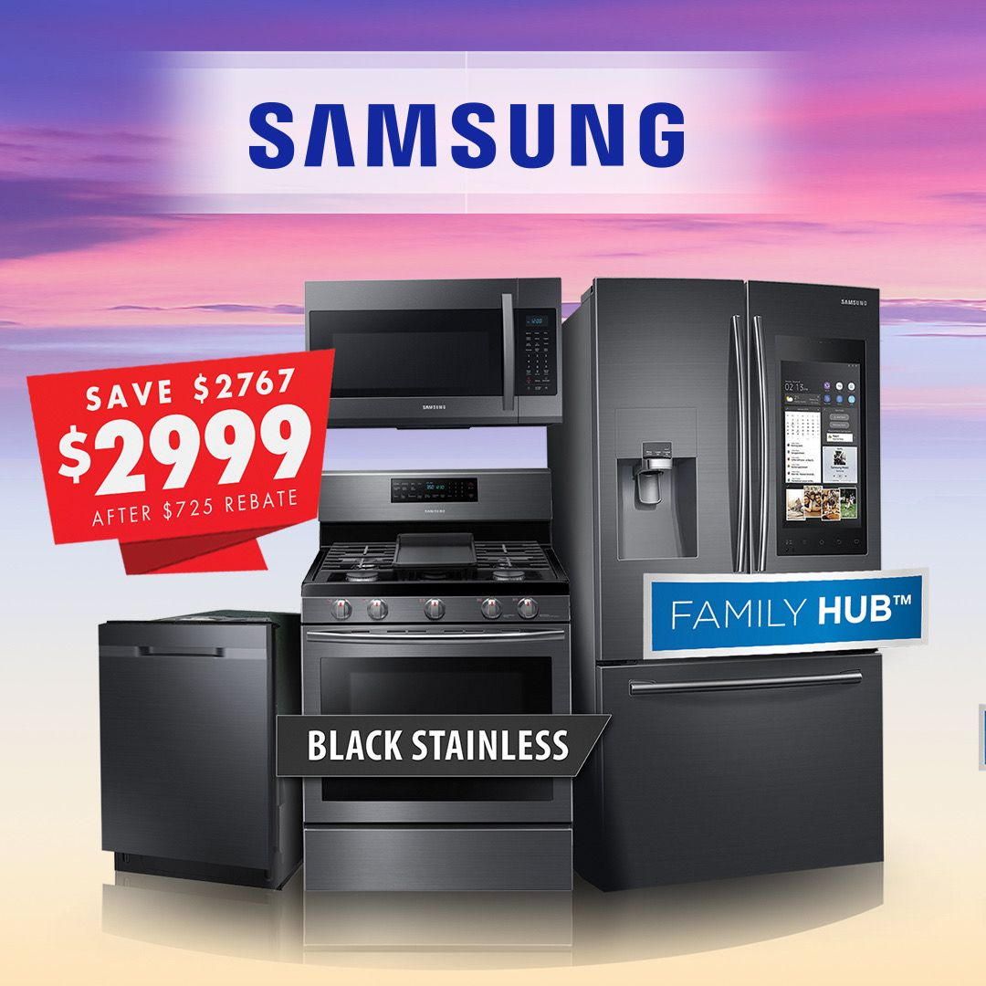 Samsung Package 2999 Samsung Appliances Lg Appliances Store Flyers