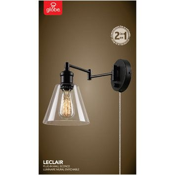 You'll love the Adison 1 Light Plug In Industrial Wall Sconce with Hardwire Conversion Kit at Wayfair - Great Deals on all Lighting  products with Free Shipping on most stuff, even the big stuff.