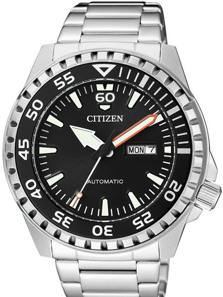 42346c3ee975 Citizen Automatic Sport Watch with Stainless Steel Bracelet  NH8388 ...