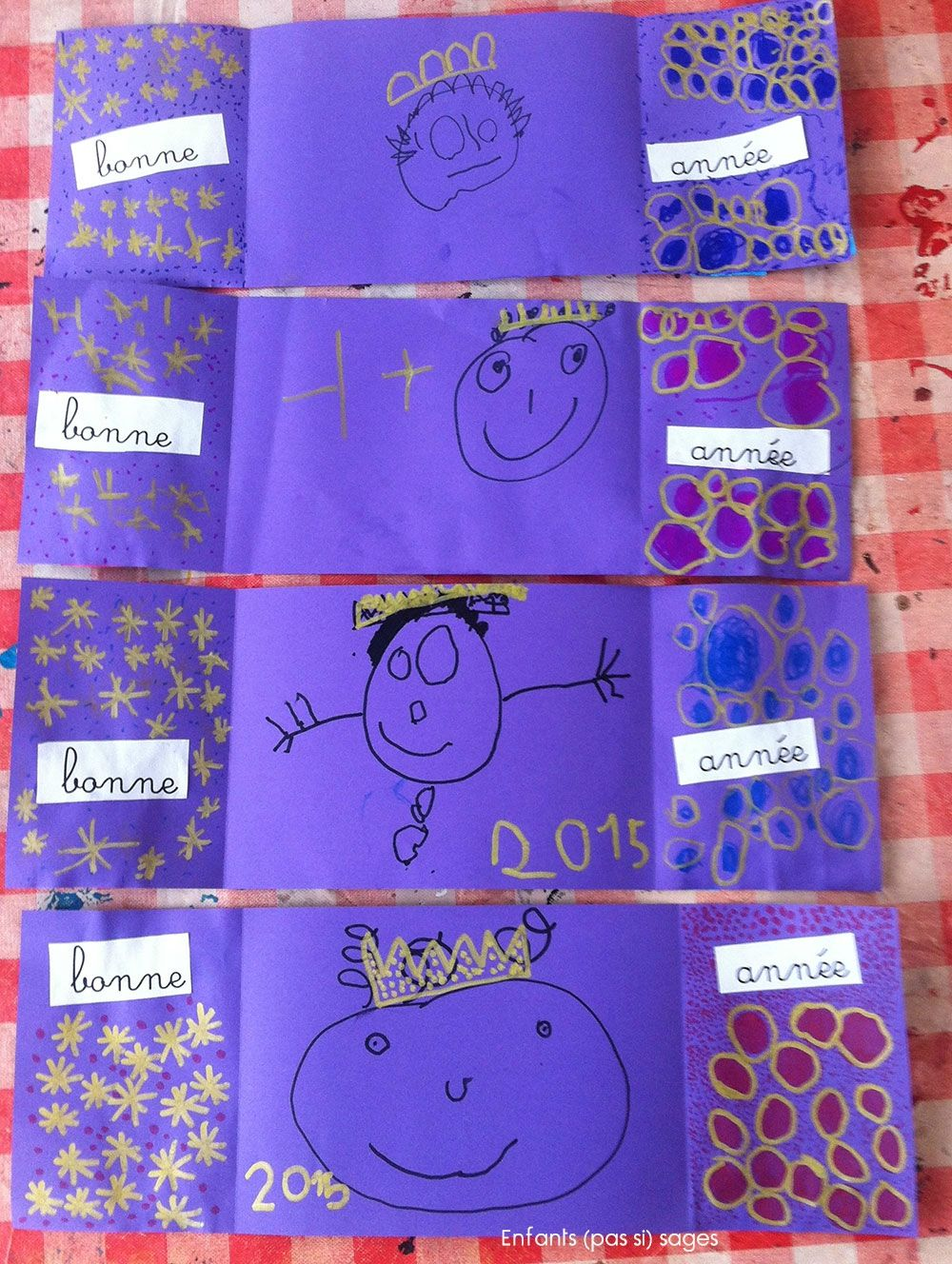 carte bonne annee maternelle carte bonne annee 2015 MS GS | noel | Carte bonne année, Bonne