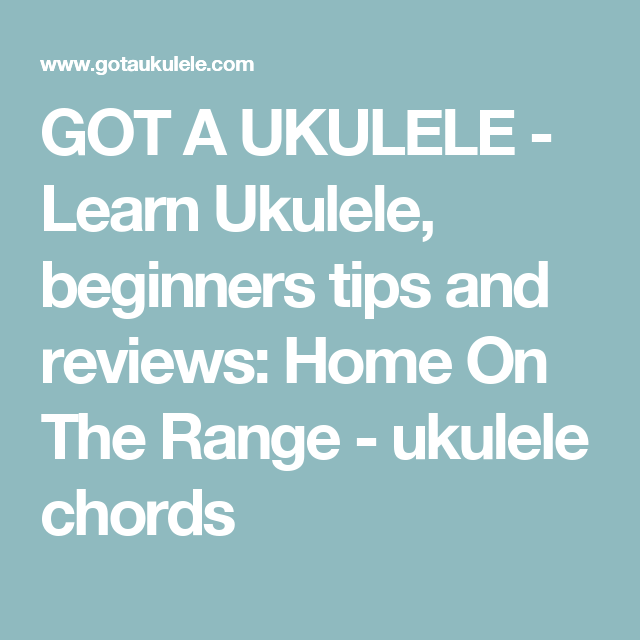 Got A Ukulele Learn Ukulele Beginners Tips And Reviews Home On