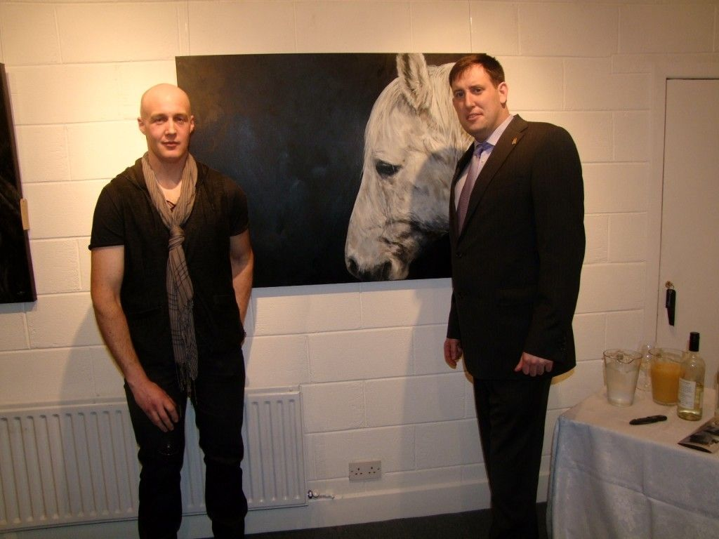 Artist Tony O Connor- Briliant Equine artist check out his site- http://www.whitetreestudio.ie/index.html