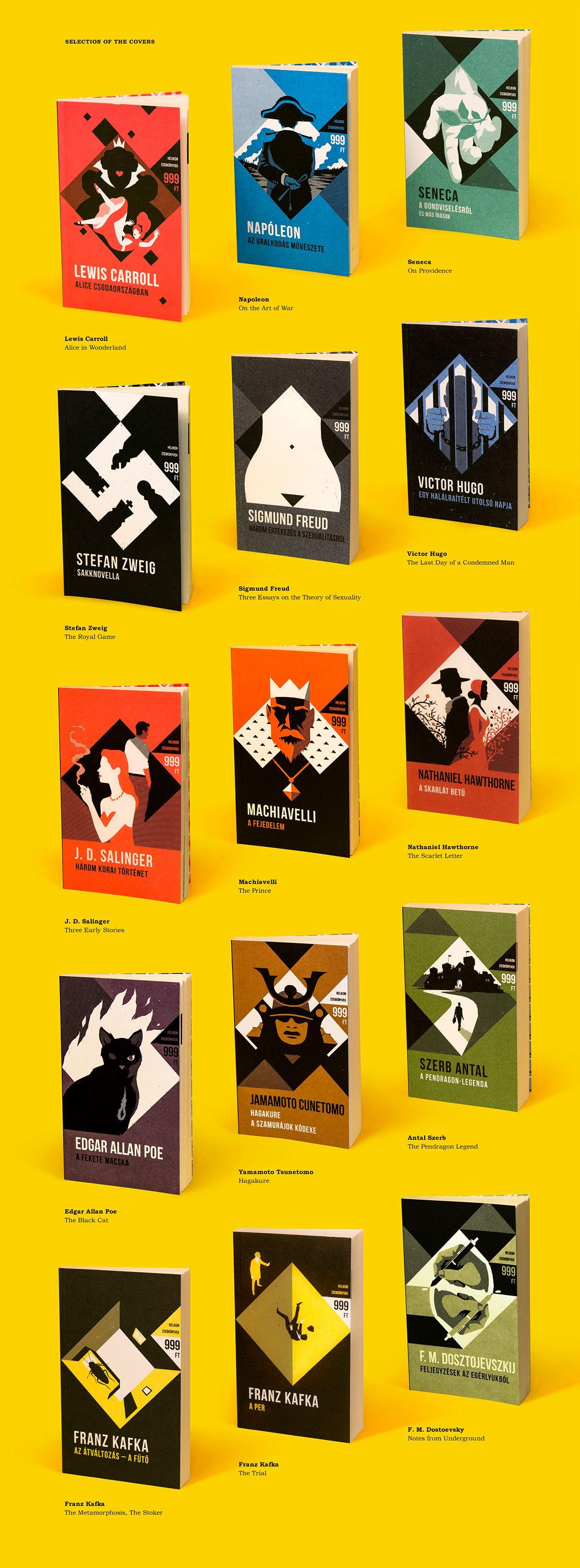 HELIKON POCKET BOOKS on Behance