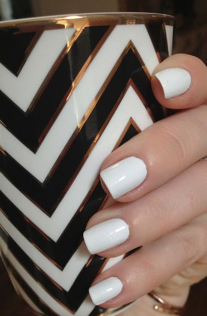 Best Tip For White Nails Or Any Color With No Streaking Using Only 2 Coats Of Polish Nails