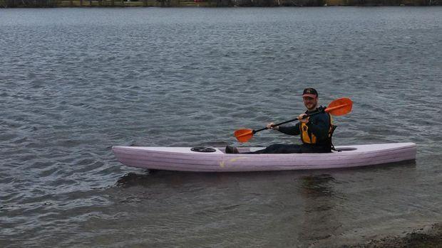 Sawfish The Unsinkable Lightweight Foam Kayak Free Diy Kayak Plans Anyone Can Build Boat Building Boat Building Plans Boat